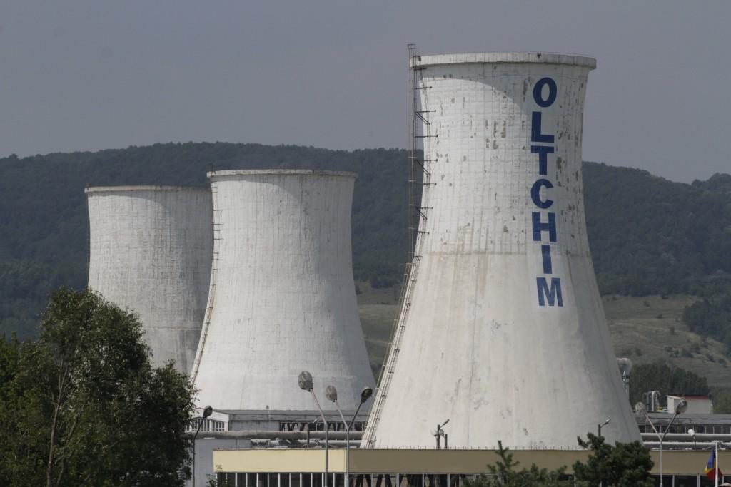Combinatul Oltchim poate fi vazut in Ramnicu Valcea, duminica, 10 august 2014. GABRIEL PETRESCU / MEDIAFAX FOTO